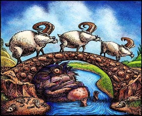 Image result for Three Billy Goats Gruff Troll