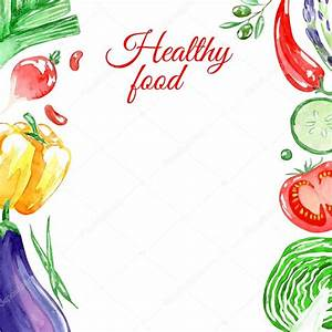Healthy food background — Stock Vector © zabavinaula #80161502