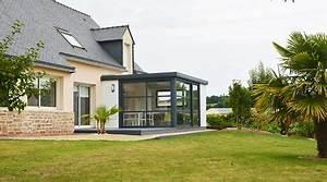 Prix D Une Veranda : prix d 39 une extension de maison co t de construction ~ Dallasstarsshop.com Idées de Décoration