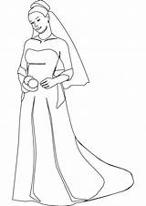 Bride Coloring Pages Chucky Printable Template Print Getcolorings sketch template