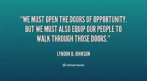 Doors Of Opportunity Quotes QuotesGram