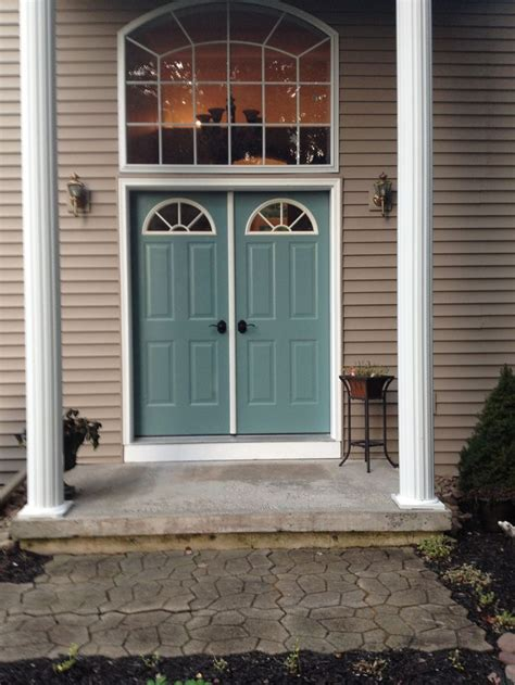 color  front doors behr paint color dragonfly