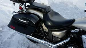 2008 Yamaha Vstar 1300 Motorcycle Saddlebags Review