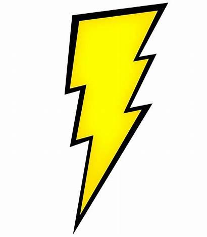 Clipart Lightning Bolt Silhouette Clip Power Lighting