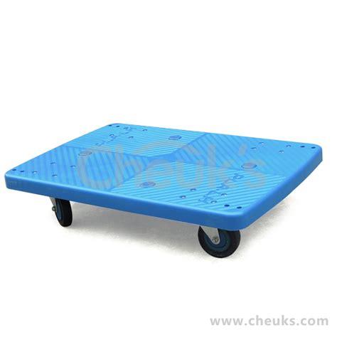 trolley vs floor 150kg platform truck noiseless cart pla150y dl four