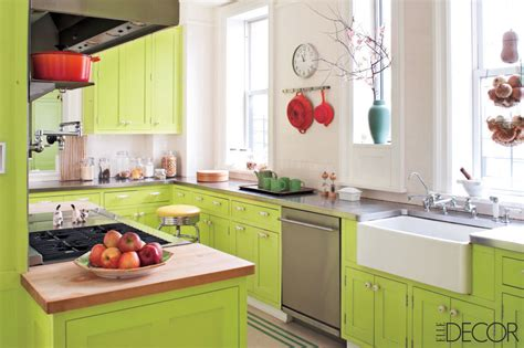 green kitchen accents lime green cabinets with accents interiors by color 1379