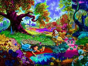 Trippy Alice in Wonderland. | Art Inspiration & Crafts ...
