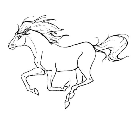 Coloring Horses Pages by Coloring Pages Coloringpages1001