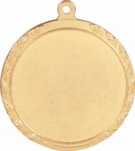 Gold Blank Center 2in Medal | Nu Image Engraving & Awards
