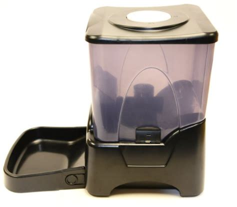 automatic pet feeder reviews toppets large automatic pet feeder electronic programmable