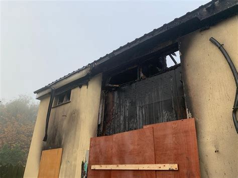 Orchard Park House Fire Aftermath Captured In Devastating