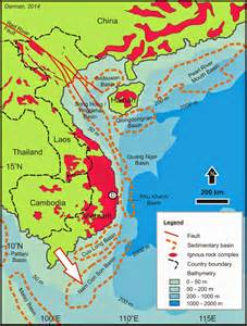 Vietnam Red River Basin Map