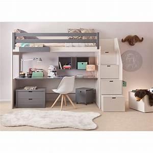 Lit En Hauteur Enfant : les 25 meilleures id es de la cat gorie lit mezzanine sur ~ Preciouscoupons.com Idées de Décoration