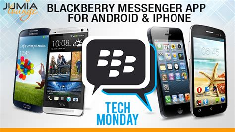 Blackberry Messenger App For Android And Iphone Tech Monday