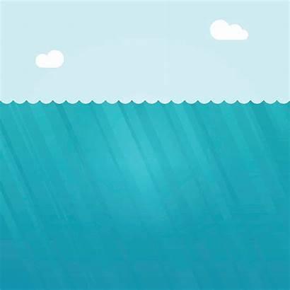 Water Vector Ocean Illustration Deep Underwater Background