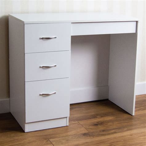 Riano Drawer Chest Bedroom Wood Dressing Table Desk