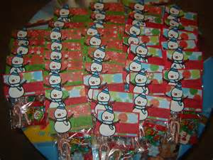 getting buggy with it christmas goodie bags