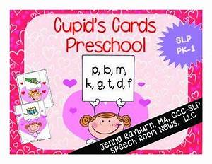 Cupid's Cards: Preschool Valentine's Day ArticulationCupid ...