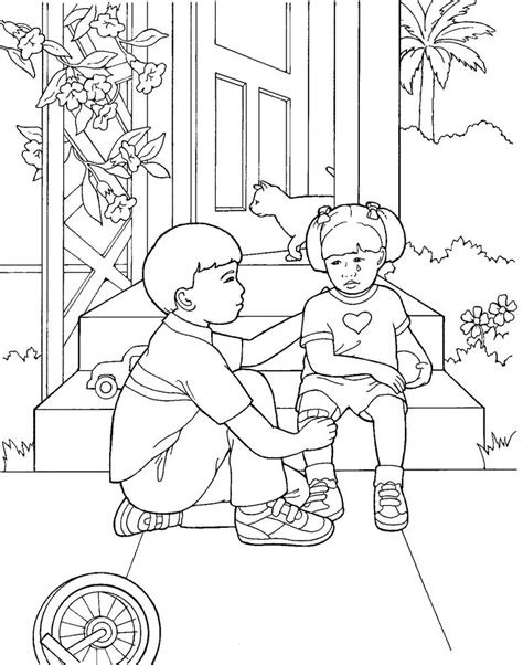 lds primary coloring pages images  pinterest