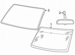 Ford Explorer Sport Trac Windshield Molding  Upper  Reveal