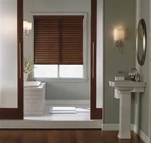 levolor 2quot visions faux wood blinds contemporary With blinds for bathrooms uk