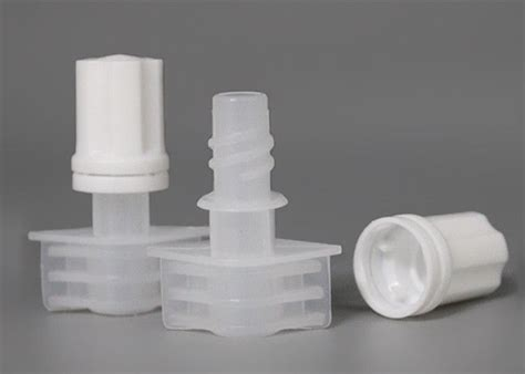 pp pe plastic cap  pour spouts  compound soft package bag