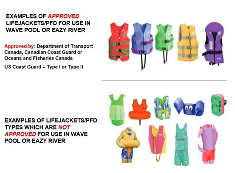 Approved Life Jackets & Pfds