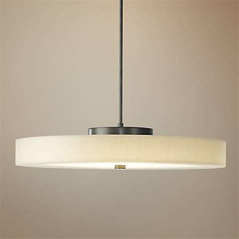 disq  burnished steel led pendant light