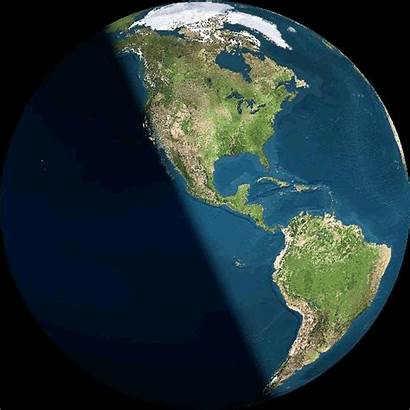 Earth Planet Solstice Gifs Sun Animated Space