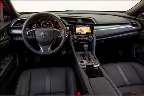 honda civic 2017 interior 2017 honda civic hatchback press kit interior honda news