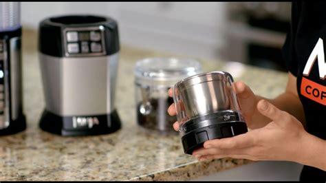 ninja coffee spice grinder youtube