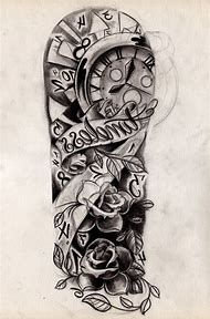 Best Half Sleeve Tattoo Drawings Ideas And Images On Bing Find