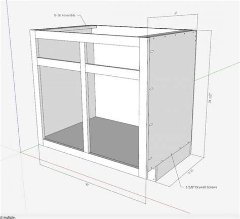 how to build kitchen cabinets free plans kitchen cabinets the engineer s way finewoodworking 9304
