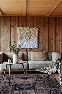 Mur Interieur Bois : id es d co habiller ses murs de bois murs en ~ Zukunftsfamilie.com Idées de Décoration