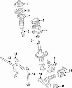 Front Suspension For 2012 Toyota Prius V