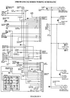 1994 Cadillac Wire Diagram by Wiring Diagram For 1998 Chevy Silverado Search