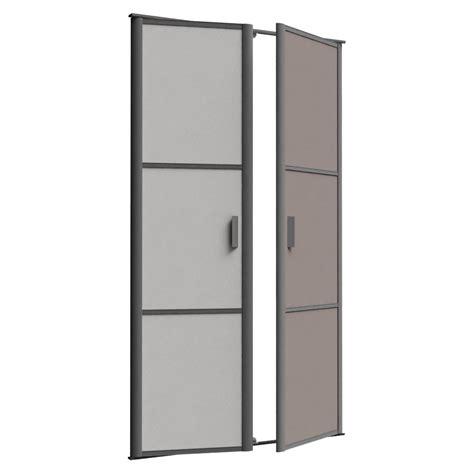objets bim et cao porte de placard pivotante reflet 2