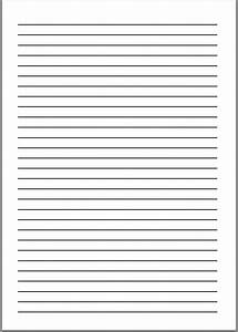 A4 Writing Paper Template - A4 Paper