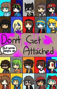 Don39t Get Attached Dangan RonpaMC YouTuber AU By