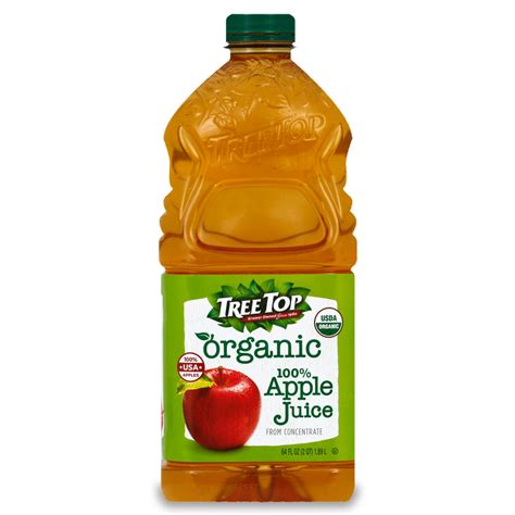 juice apple organic tree bottle treetop nutrition facts fruit interactions reader