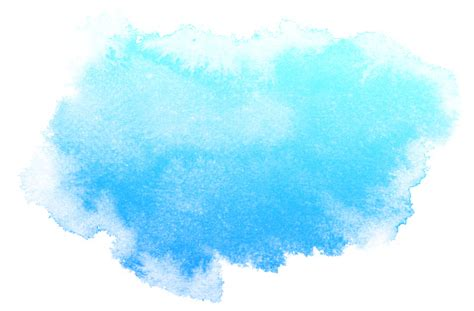 Abstract Blue Watercolor Background Stock Illustration