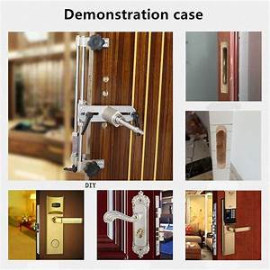 Portable Mortise Drill Bit Door Lock Installation Kit