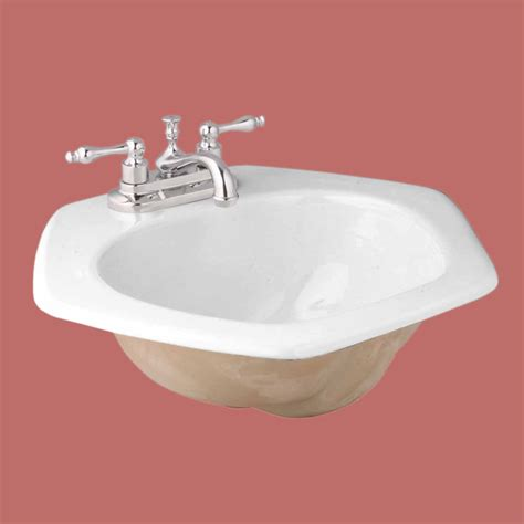 Drop In Bathroom Sink Bowls by Drop In Bowls White China Honeycomb Drop In Bowl 10684