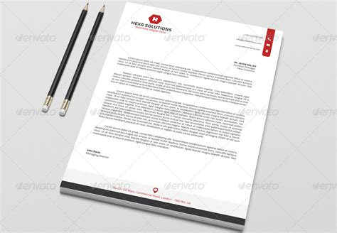 15+ Brand New Ms Word Letter Head Templates  Graphic Cloud