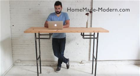 build a standing desk home depot video instantly modernize your home by building this