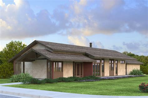 new contemporary covina house plan fits well on narrow