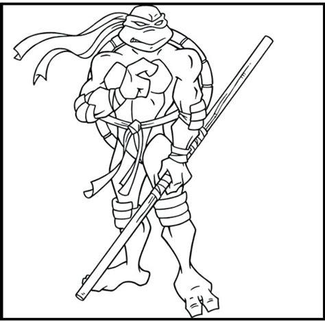 Leonardo Ninja Turtle Coloring Page at GetDrawings Free