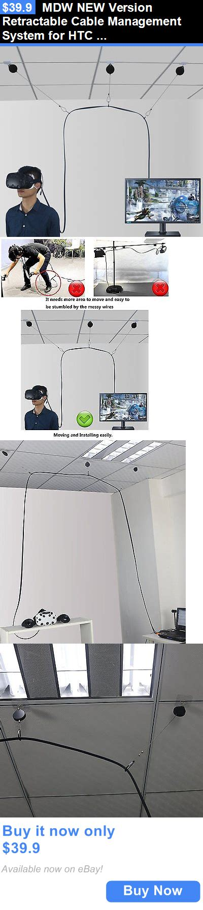 pc  console vr headsets mdw  version retractable