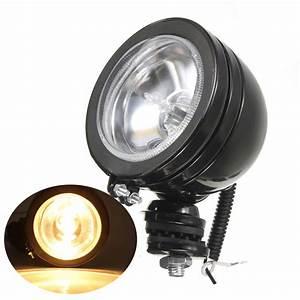 Led Spot 12v : 3 h3 12v 55w led car spotlight spot halogen fog light white beam work lamps ebay ~ Watch28wear.com Haus und Dekorationen