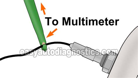 Daewoo O2 Sensor Wiring by Part 1 How To Test The Front Oxygen Sensor With A